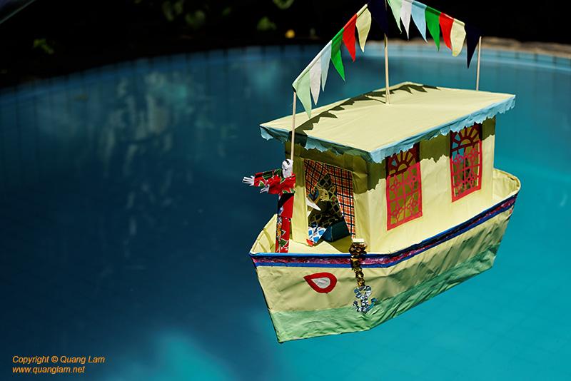 Votive Paper Boat