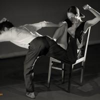 Dancers Eunyoung Park, Jun Wook Lee