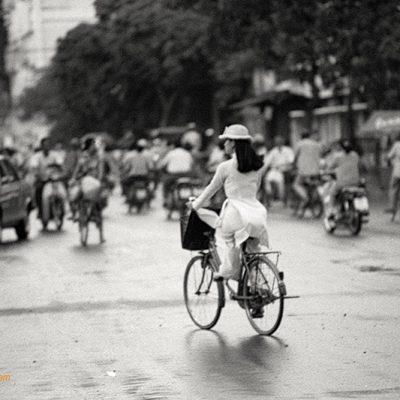 Fine art photo print Vietnam Schwarz Weiß