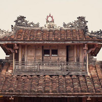 Fine art photo print Vietnam Architektur
