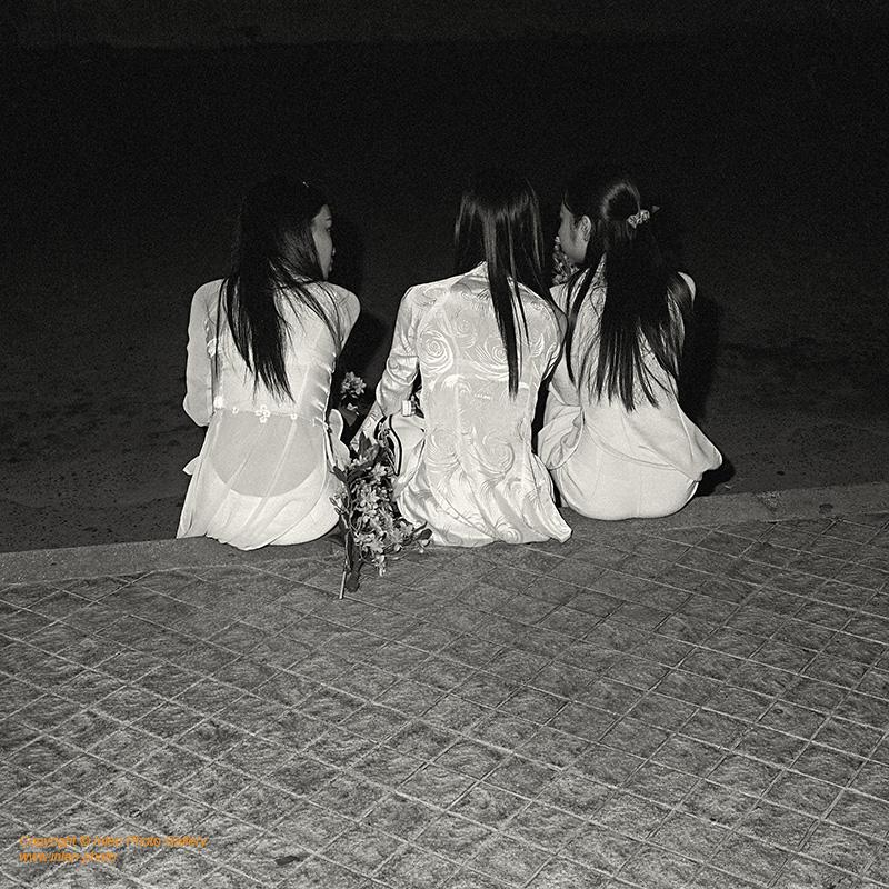 Inlen Fine Art Gallery Photo Print Vietnam Vietnam in Black and White