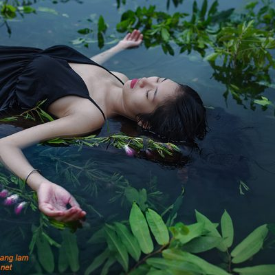 Fine art photo print Chân dung Ophelia