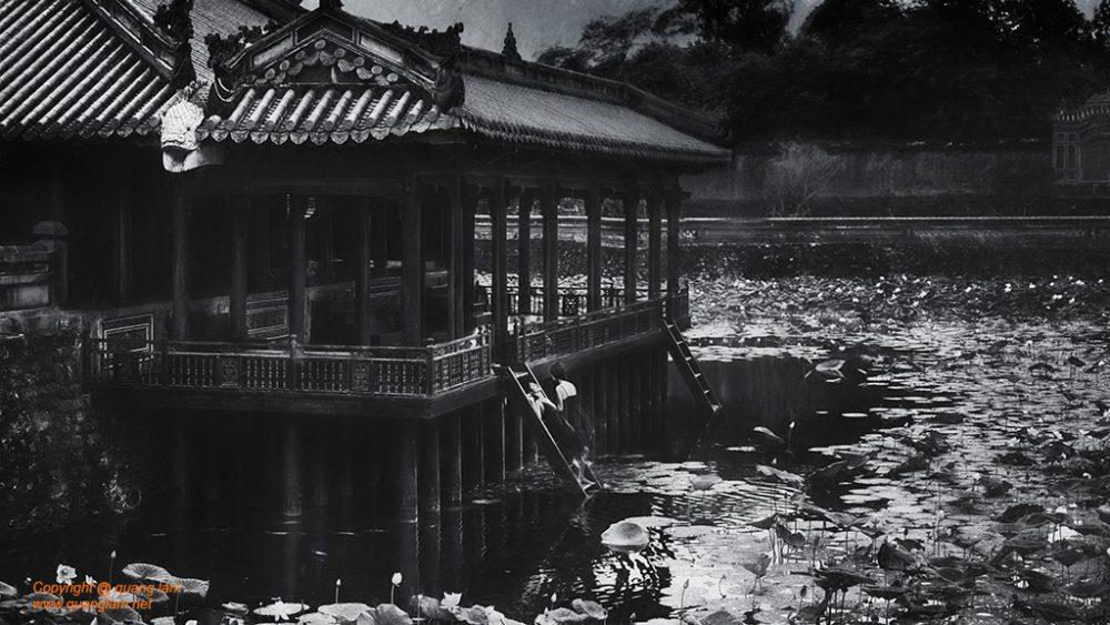 Inlen Fine Art Gallery Photo Print Vietnam Ink and Watercolor Pictorialism