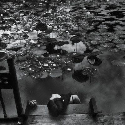 Fine art photo print Mực và Màu Nước